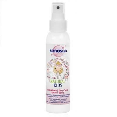 Sanosan NATURAL KIDS Spray pentru descurcarea parului, 125 ml