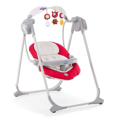 Chicco Leagan-balansoar Chicco Polly Swing UP, Paprika
