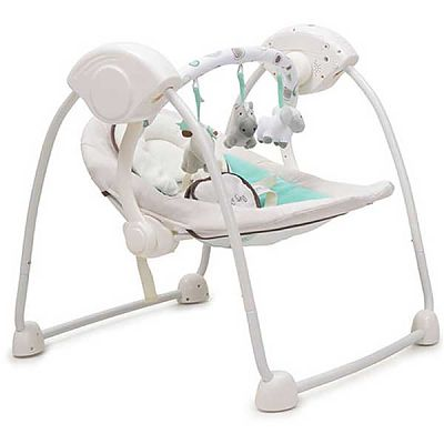 CANGAROO Leagan Electric Bebelusi Baby Swing VERDE