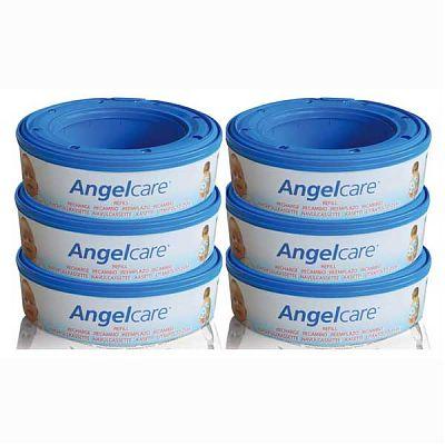 AngelCare Set 6 Rezerve pentru cos ermetic scutece murdare