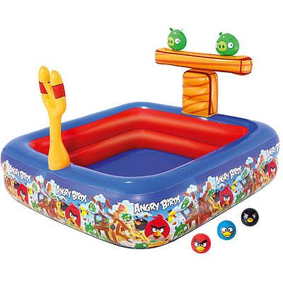 Bestway Piscina gonflabila loc de joaca Angry Birds