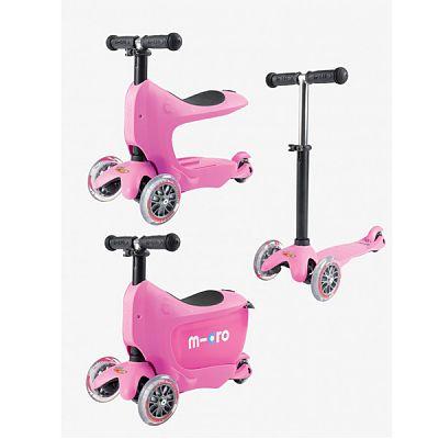 Mini micro Trotineta Micro Mini 2go Pink 1-6 ani