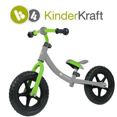 Kinderkraft Bicicleta fara pedale 2Way
