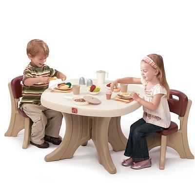 The Step2 Company Set, Masuta + 2 scaune pentru copii