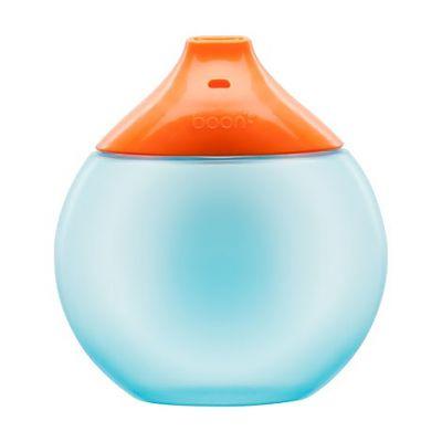 boon FLUID - cana antistropire 300 ml albastru+portocaliu