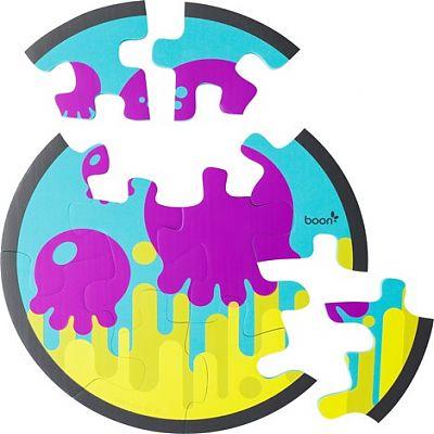 boon Jucarie PIECES - puzzle din spuma pentru baie
