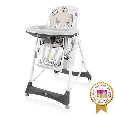 Baby Design Scaun de masa Bambi 07 grey colectia 2016