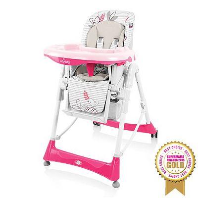 Baby Design Scaun de masa Bambi 08 pink colectia 2016
