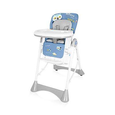 Baby Design Scaun de masa Pepe 03 Blue Owl
