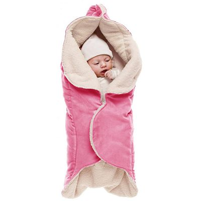 Wallaboo Paturica floare cu blanita Sweet Pink