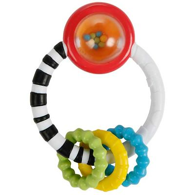 Bright Starts Jucarie New Rattle A Round