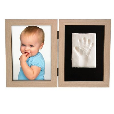 Kidzzcast Kit Amprenta bebelus 2D 'My First Print of Frame Nature