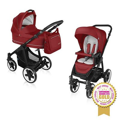 Baby Design Carucior Multifunctional 2 in 1 Lupo Comfort 02 Dark Red 2016