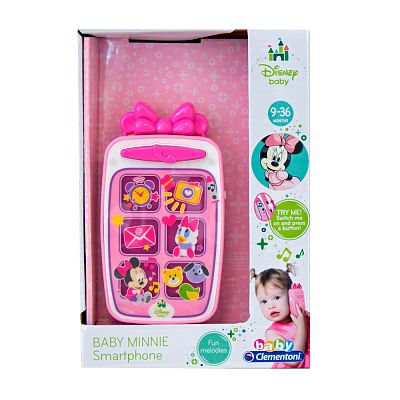 CLEMENTONI Baby Smartphone Minnie Mouse