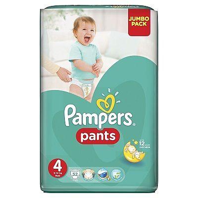 Pampers Scutece nr. 4 Pants Maxi, 9-14 kg, 52 bucati