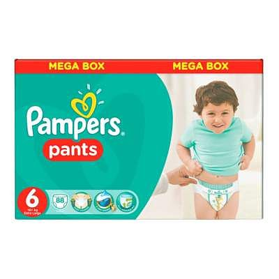 Pampers Scutece nr. 6 Pants Extra large, +16 kg, 88 bucati