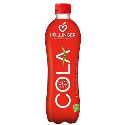 Hollinger Cola Ecologica Racoritoare Carbogazoasa 0.5 L