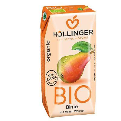 Hollinger Suc Organic cu pai de Pere 200 ml