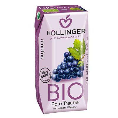 Hollinger Suc Organic cu pai de Struguri 200 ml