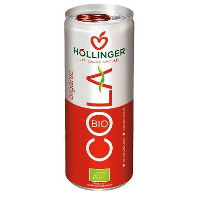 Hollinger Bio Cola Bautura racoritoare carbogazoasa 250m