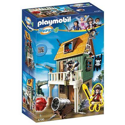 Playmobil Fortul de camuflaj al piratilor