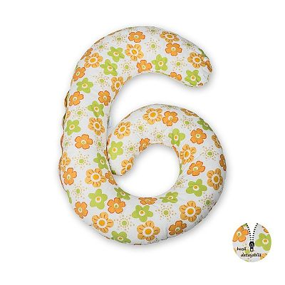 Babyneeds Perna multifunctionala Floricele portocalii