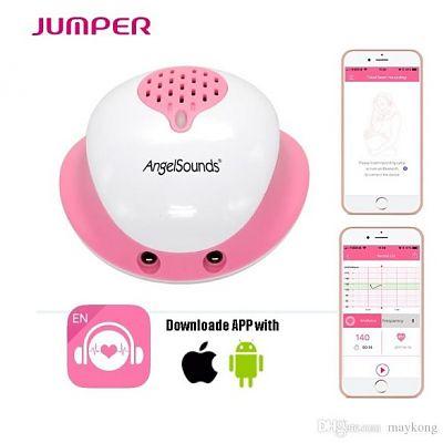 JUMPER Aparat de ascultat sunete fetale cu aplicatie smartphone JPD-200S