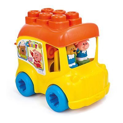clementoni Autobuzul scolar cu cele 12 cuburi este gata de actiune.