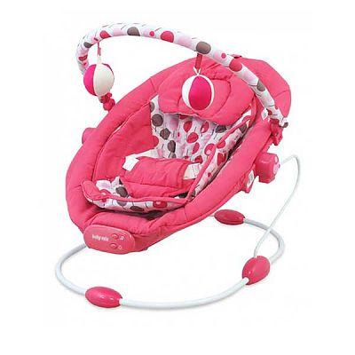 Baby Mix Balansoar muzical copii  LCP BR245 014 Pink