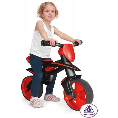 Injusa Bicicleta fara pedale neagra Jumper
