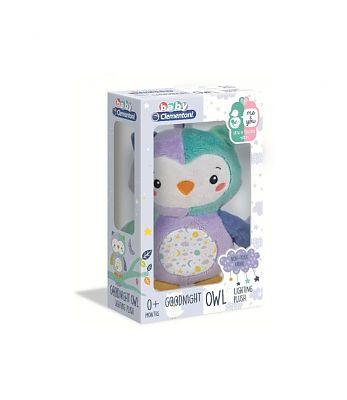 CLEMENTONI Baby Bufnita De Plus Cu Lumini Si Sunete