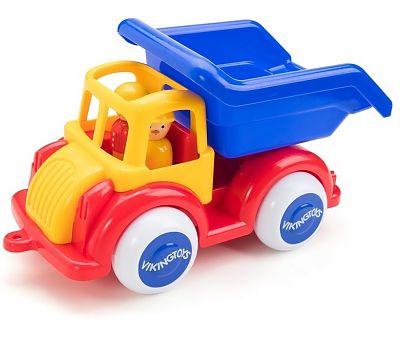 Viking Toys Camion Autobasculanta cu 2 figurine - Jumbo