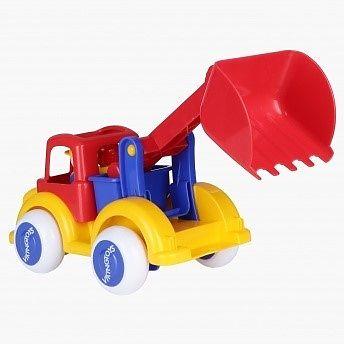 Viking Toys Camion Excavator cu 2 figurine - Jumbo