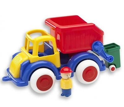 Viking Toys Camion Gunoi cu 2 figurine - Jumbo