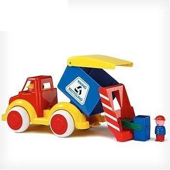 Viking Toys Camion Gunoi cu 2 figurine - Super
