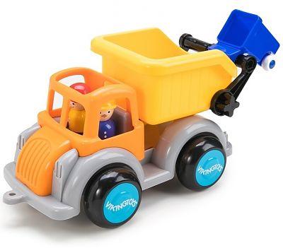 Viking Toys Camion Gunoi culori vesele cu 2 figurine - Jumbo