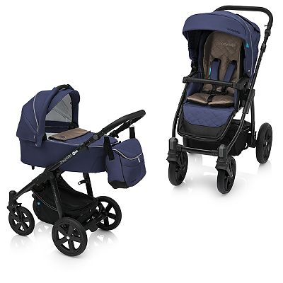 Baby Design Carucior Multifunctional 2in1 Lupo Comfort 03 Navy 2018