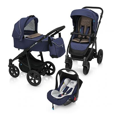 Baby Design Carucior Multifunctional 3in1 Lupo Comfort 03 Navy 2018