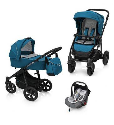 Baby Design Carucior Multifunctional 3in1 Lupo Comfort 05 Turqouise 2018