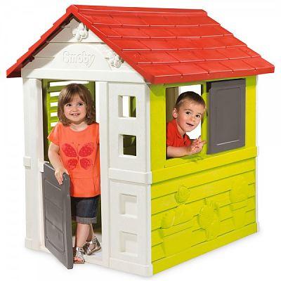 Smoby Casuta pentru copii Smoby Nature Playhouse