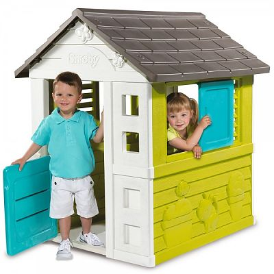 Smoby Casuta pentru copii Smoby Pretty Playhouse