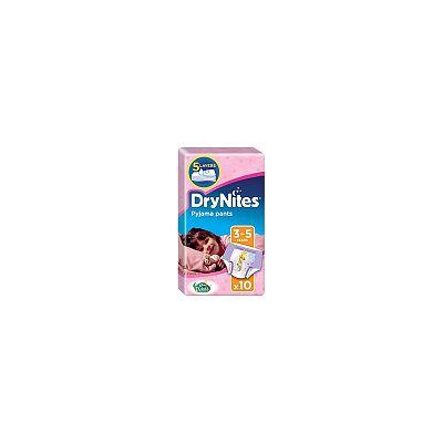 Huggies Chilot absorbant pentru noapte fete DryNites, 3-5 ani / 16-23 kg