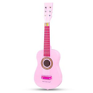 New Classic Toys Chitara roz  3-5 ani