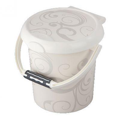 Rotho babydesign Cos scutece utilizate, cu clapeta Style Vintage white