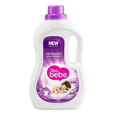 Teo Bebe Detergent lichid pentru copii 1.1 l - Lavanda