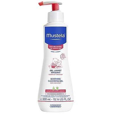 Mustela el curățător calmant piele sensibilă, +0luni, 300ml