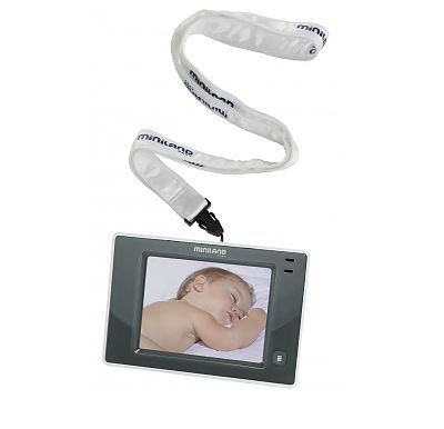 "Miniland baby Interfon video monitorizare copii 3.5"" Touch"