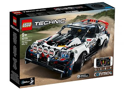 LEGO Technic Masina de raliuri Top Gear Teleghidata