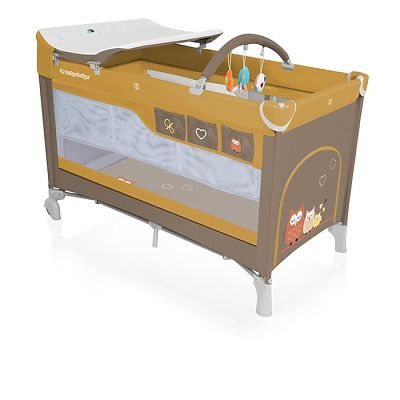 Baby Design Patut pliant cu 2 nivele Dream 09 beige  2018