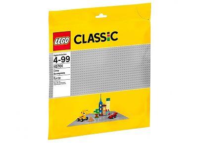 LEGO Placa de baza gri Classic